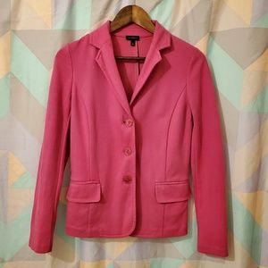 Talbots Fuschia Pink Blazer